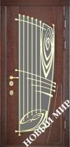Входные двери премиум-класса с деревянной облицовкой (Категория 5)