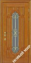 Входные двери премиум-класса с деревянной облицовкой (Категория 3)
