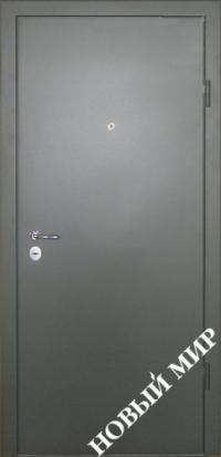 """Серийные входные двери """"Новосел 1 Премиум"""" (Металл/МРК дубовый)"""