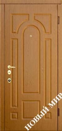"""Серийные входные двери """"Новосел 7"""" (MDF/MDF)"""