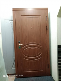 """Серийные входные двери """"Новосел С 7.6"""" Орион (MDF/MDF)"""