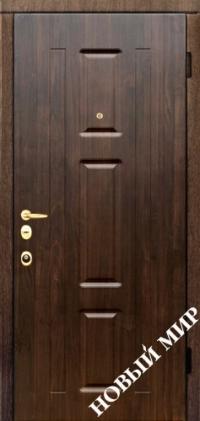 """Серийные входные двери """"Новосел 7 Vinorit"""" (MDF/MDF) для наружного применения"""