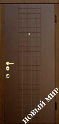 """Серийные входные двери """"Новосел С 7"""" Форте (MDF/MDF)"""