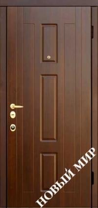 """Серийные входные двери """"Новосел С 7"""" Форт (MDF/MDF)"""