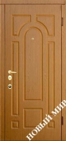 """Входные двери """"Новосел М 7.5"""" Русь (MDF) 2040х880х115 мм"""